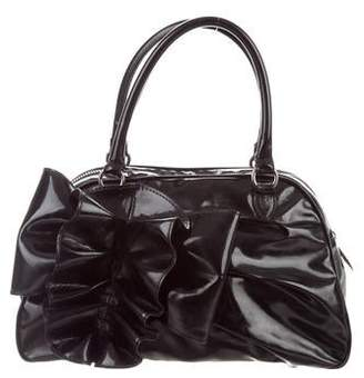b8e3e2481b82 Pre-Owned at TheRealReal · Valentino Patent Leather Handle Bag
