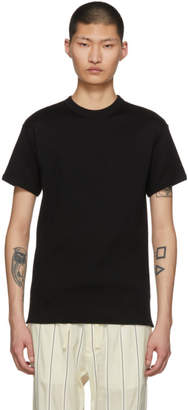 SASQUATCHfabrix. Black Rib Stitch T-Shirt