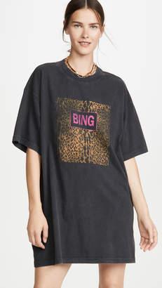 Anine Bing Harley Tee Dress