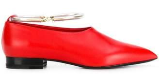 Jil Sander pointed toe loafers