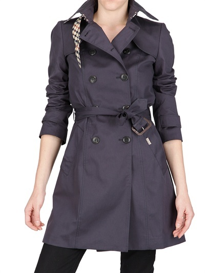 Daks - Stretch Cotton Gabardine Trench Coat