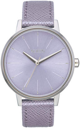 Nixon Women Kensington Leather Strap Watch 37mm