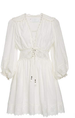 Zimmermann Iris Mini Corset Dress