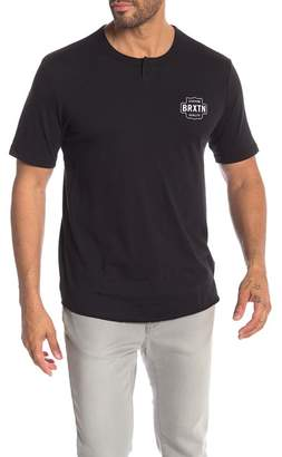 Brixton Garth Short Sleeve Henley Top
