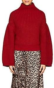 Lanvin Women's Chunky Wool-Blend Sweater-Red
