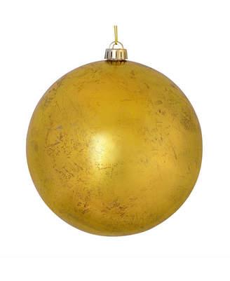 """Vickerman 6"""" Gold Foil Ornament 4/Bag"""