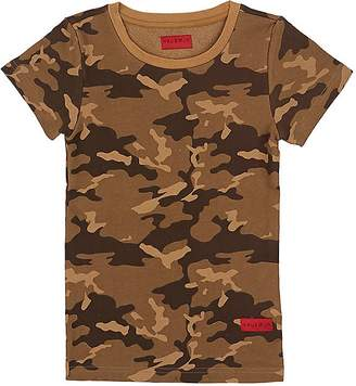 Haus of JR Kids' Howard Camouflage Cotton Terry T-Shirt