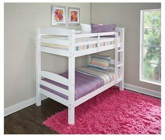 Powell Company Twin Over Twin Avery Bunk Bed White