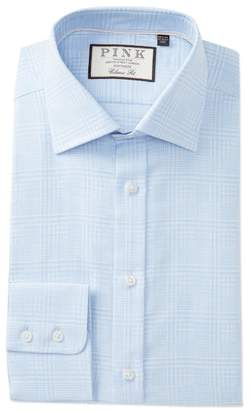 Thomas Pink Bourne Plaid Classic Fit Dress Shirt