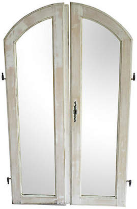 One Kings Lane Vintage Antique French Mirrored Windows - AntiqueLifestyle