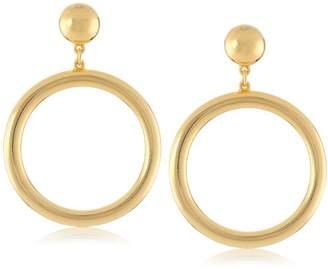 "Ben-Amun Jewelry ""Moroccan Coin"" Hoop Earrings"