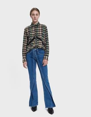 Aalto Pleated Flare Jean