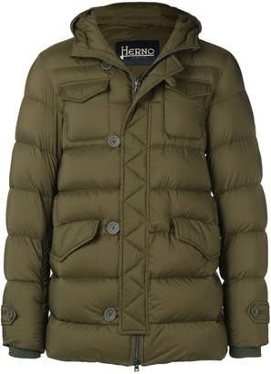 Herno short padded coat