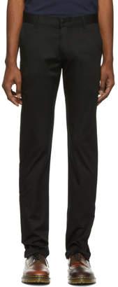 Naked & Famous Denim Denim Black Stretch Chino Trousers