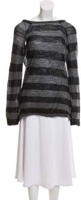 Veronique Branquinho Wool Open-Back Sweater