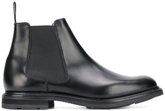 Church's slip-on leather booties