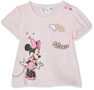 5b910a30e6f1 Disney Minnie Baby Girls' 5746 T-Shirt, Pink Rose, 18-24
