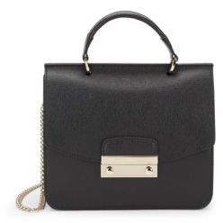 Furla Leather Chain Messenger Bag