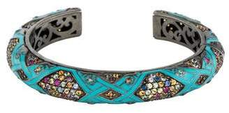 MCL by Matthew Campbell Laurenza Multicolor Sapphire Cuff