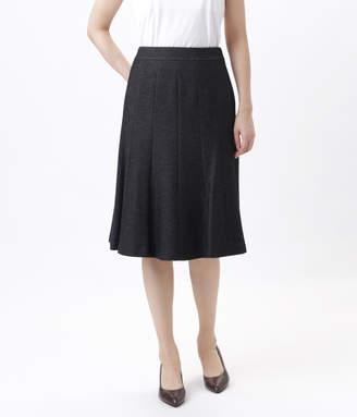 NEWYORKER women's 【アウトレット】ピンヘッドジャージー 14枚接ぎフレアスカート
