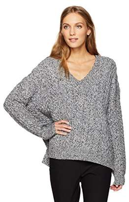 Vince Women's Cable V-Neck Sweater