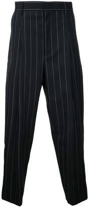 Juun.J pinstripe cropped trousers