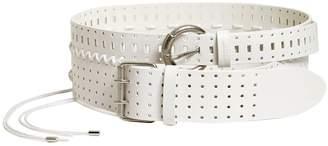 Maison Margiela Double Stitched Leather Belt