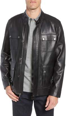 Nordstrom Leather Field Jacket