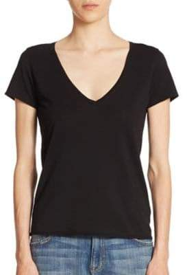 Feel The Piece Noemie Cotton V-Neck Tee