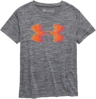 Under Armour Twist Logo Graphic HeatGear(R) T-Shirt