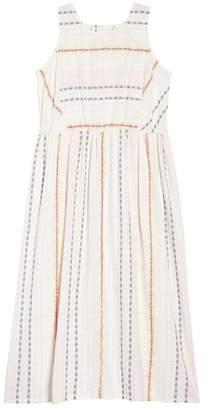 Caslon Smocked Cotton Maxi Dress