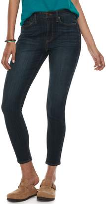 Mudd Juniors' High-Waisted 4-Way Stretch Ankle Jeggings