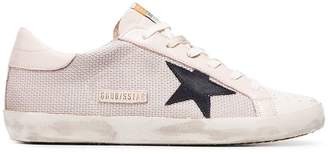 Golden Goose Superstar mesh sneakers