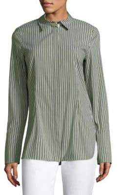 Lafayette 148 New York Jake Striped Shirt