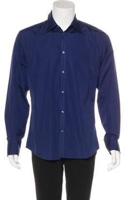 DSQUARED2 Woven Button-Up Shirt