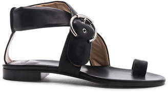 Chloé Two Strap Sandals in Black | FWRD