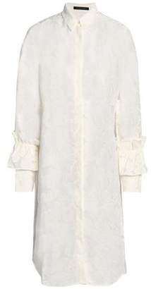 Mother of Pearl Fil Coupé Cotton-Blend Shirtdress