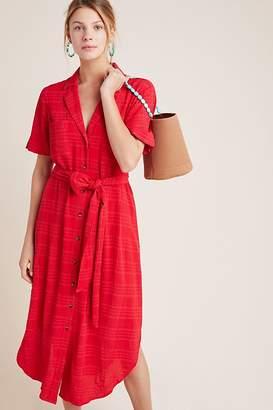 Maeve Aria Textured Shirtdress