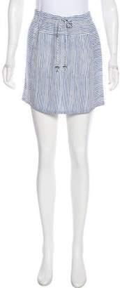A.L.C. Stripe Mini Skirt
