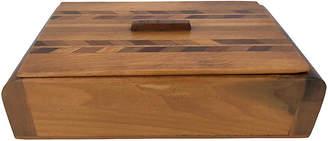 One Kings Lane Vintage Art Deco Wood Box - nihil novi
