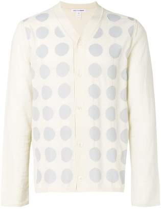 Comme des Garcons intarsia button-up cardigan