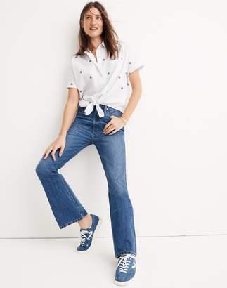 Madewell Tall Rigid Flare Jeans