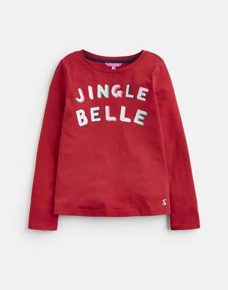 Joules 124896 LONG SLEEVED APPLIQUE TOP