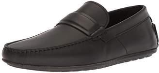 HUGO BOSS HUGO by Men's Dandy Leather Moccasin Shoe Penny Loafer