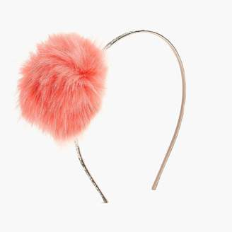 J.Crew Girls' pom-pom headband