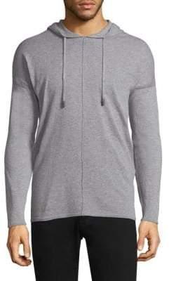 Diesel Black Gold Mélange Hooded Sweater