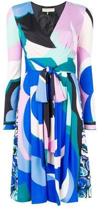 Emilio Pucci tied-waist flared dress