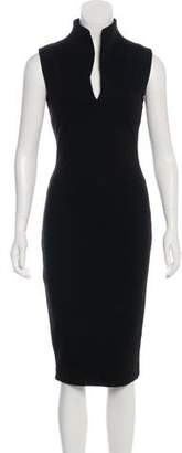 Kimberly Ovitz Sleeveless Bodycon Dress