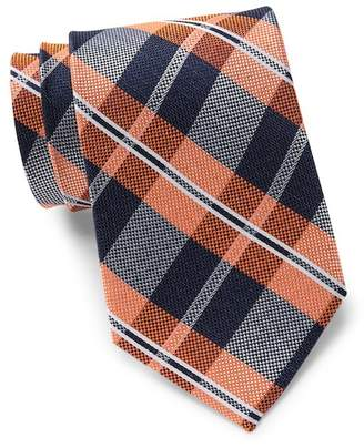 Tommy Hilfiger Lakeview Plaid Silk Tie