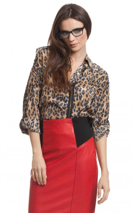 Tracy Reese Zip Front Shirt
